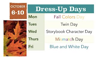 SDMS/HS Fall Spirit Week