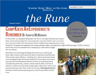 December issue of the rune