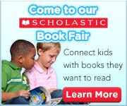 Fall Scholastic Book Fair Banner